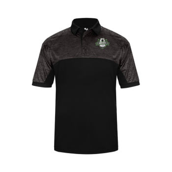 uScore Crest - Badger Tonal Blend Polo Thumbnail