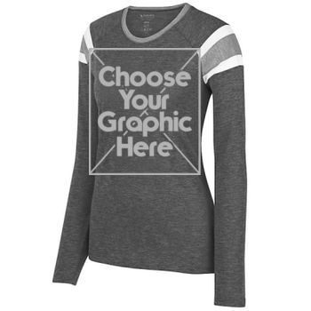 Make Your Own - Ladies Long Sleeve Fanatic Tee Thumbnail